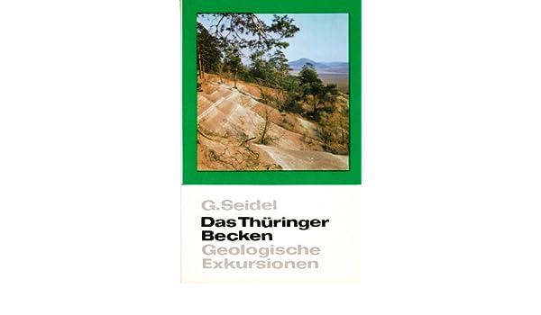 Geologische Karte Thüringen.Das Thüringer Becken Geologische Exkursionen Inkl Geologische