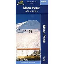 Mera Peak climbing map (Landkarte)