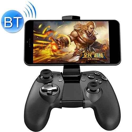 Kaneed Game-Controller Gamepad NEWGAME Q1 Bluetooth + 2,4 GHz Wireless Gaming Controller Grip Gamepad mit Halterung, für Android/iOS/PC