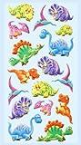 CREApop® Softy-Sticker Dino II,Bogen 17,5 x 9 cm
