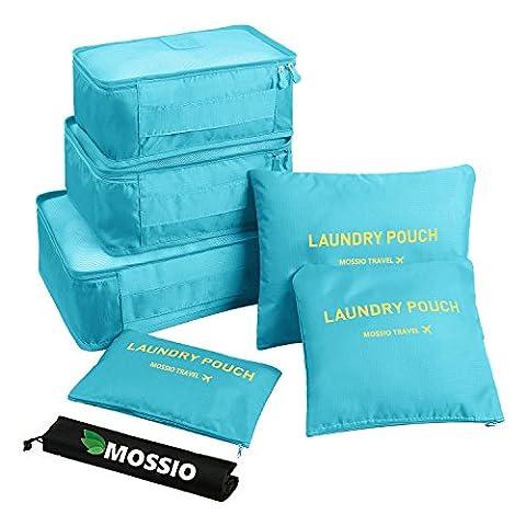 Mossio, Organiseur de bagage Bleu Bleu clair