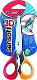 Schere 13cm Maped Sensoft 3D (rot gelb)
