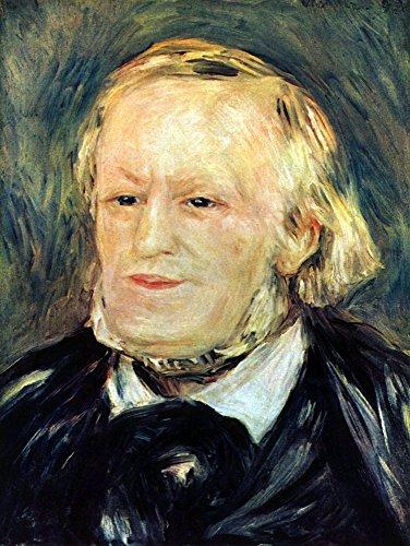 Das Museum Outlet-Portrait Of Richard Wagner von Renoir, gespannte Leinwand Galerie verpackt. 50,8x 71,1cm