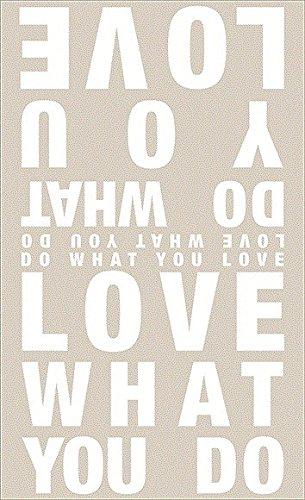Erde Farbton (Räder Poesietuch Love What You. 110x180cm)