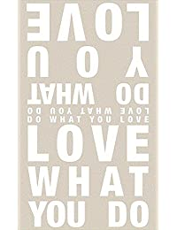 Räder Poesieschal Do what you love ...