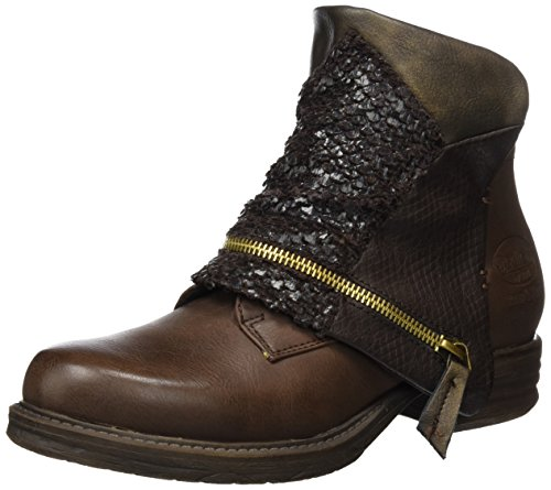 Dockers by Gerli 36ka316-627320, Bottines à doublure froide femme Marron - Braun (Cafe 320)