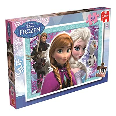 Disney Frozen Puzzle 50 pcs 50pieza(s) - Rompecabezas (Jigsaw puzzle, Dibujos, Preescolar, Disney Frozen, Chica, 4 año(s)) de Jumbo