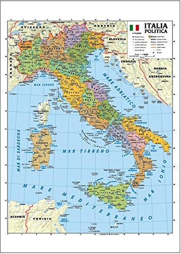 Marche Cartina Geografica Politica.Milano Cartina Fisica