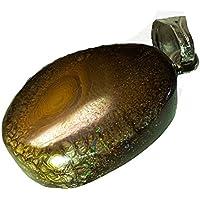 KRIO® - Boulderopal - Opal - Yowahopal Anhänger mit Silberöse preisvergleich bei billige-tabletten.eu