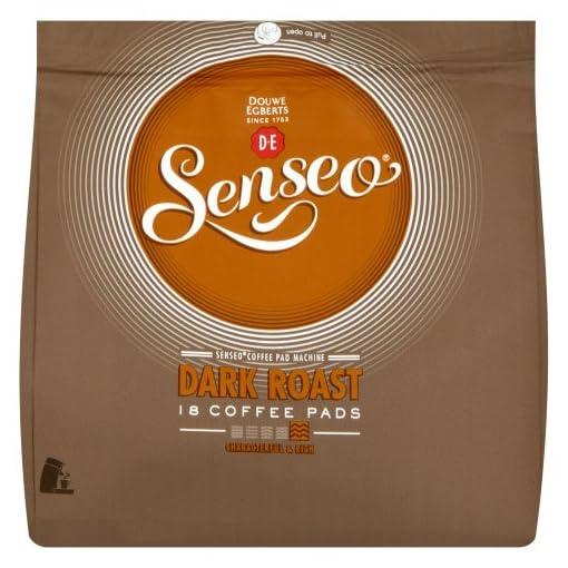 Douwe Egberts Senseo Dark Roast Coffee 18 Pads (Pack of 5, Total 90 Pads)
