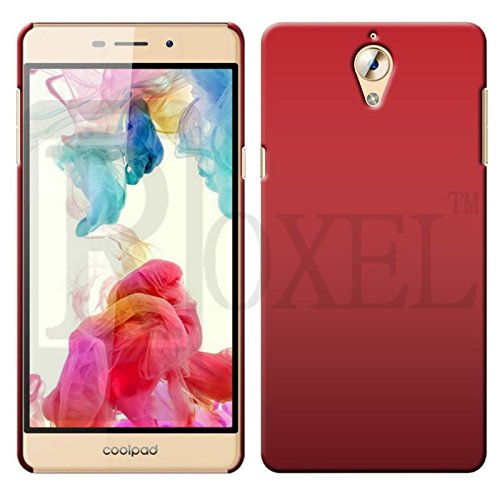 Roxel Back Cover for Coolpad Mega 2.5D (Red, Shock Proof, Plastic)