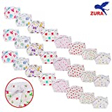 #9: ZURA Baby Nappy / Baby Nappies / baby diaper for age 0-6 Months (Pack of 24)