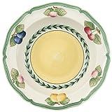 Villeroy & Boch French Garden Fleurence Salatschale, Premium Porzellan, Weiß/Bunt