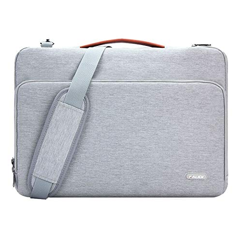 KALIDI Borsa ventiquattrore per PC portatile fino 156 pollici Dell Alienware/MacBook/Lenovo/HP Grau#2 18.5 * 13 * 1.6 inches