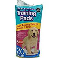 Dedimi Puppy Training Pads Super Absorbent Premium for Dogs Pack with 20-60 x 45cm pee leak-free