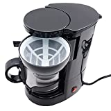 Filter Kaffeemaschine 24V mit Isolierbecher, Kaffeeautomat Fernfahrer 24 Volt LKW Isolierkanne