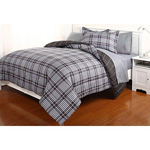 Dovedote Wendedecke und passendes Bettlaken-Set für alle Jahreszeiten, Kalifornien (Kal King Size, Grau), Kalifornien