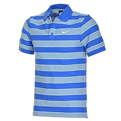 Nike Polo Herren Poloshirt Shirt Tennispolo game royal/white 653955 von Nike bei Outdoor Shop