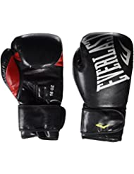 Everlast Glove Guantoni, Nero, 12 oz