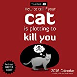 The Oatmeal 2016 Wall Calendar: How To Tell If Your Cat Is Plotting to Kill You-