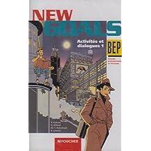 New Goals : Anglais - Tertiaires et industriels - Lycées professionnels, BEP - Pour la classe (cassette audio)