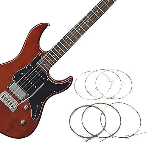 J5pecwanli 150XL/0,009 Zoll Elektro-Gitarrenverstärker-Saiten für Fender Ersatz multi