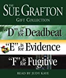 """Sue Grafton Def Gift Collection: """"D"""" Is for Deadbeat, """"E"""" Is for Evidence, """"F"""" Is for Fugitive (Kinsey Millhone Mystery)"""