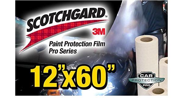 12 X 60 Genuine 3m Scotchgard Pro Series Paint Protection Film Bulk Roll Clear Bra Piece By Car Protection Pros Auto