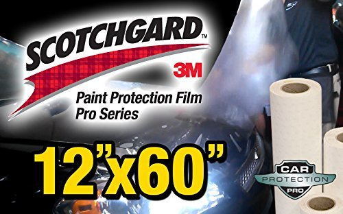 12-x-60-genuine-3m-scotchgard-pro-series-paint-protection-film-bulk-roll-clear-bra-piece-by-car-prot