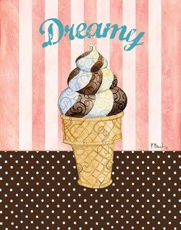 Ice Cream Shoppe II - Fine Art Print on Hahnemuehle Matt Paper - PRINT ONLY -NO FRAME - 26 x 33 Inch