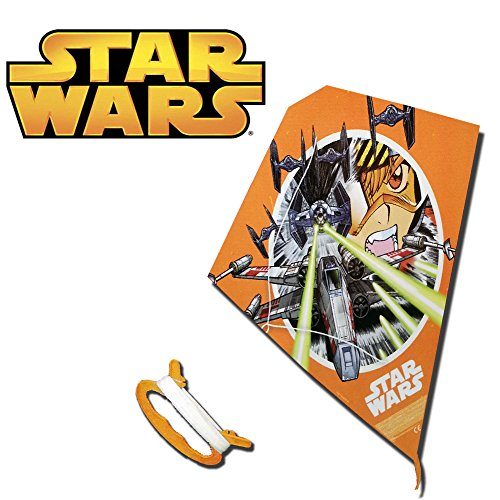 Brigamo SW2001 - Star Wars Lenkdrachen Motiv X Wing vs Tie Fighter, Kite, Lenkdrachen thumbnail