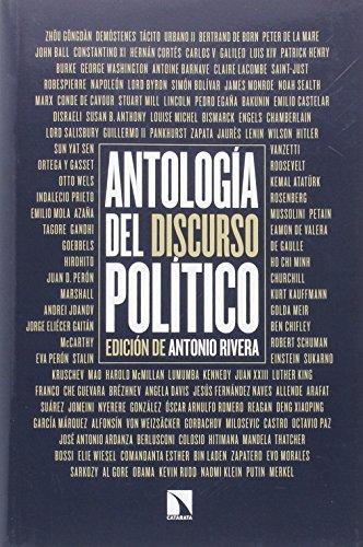 Antología del discurso político por Antonio Rivera Blanco