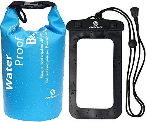 Imagen de freegrace top premium ligero dry saco bolsas de/seco–encaja perfectamente en su –mantiene gear secas para kayak, playa, rafting, barcos, senderismo, camping y pesca
