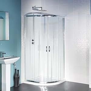 Cabine de douche en verre 4mm Quadrant 800 x800mm