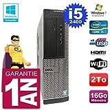 Dell PC 390 DT Intel i5-2400 RAM 16 GB Festplatte 2 TB DVD-Brenner WiFi W7