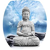Sticker Autocollant Abattant WC Bouddha 35x42cm réf 102