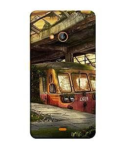 Fuson Designer Back Case Cover for Microsoft Lumia 535 :: Microsoft Lumia 535 Dual SIM :: Nokia Lumia 535 (Vintage Collection Graphics Tourist Place Men Women)