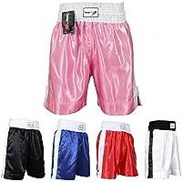TurnerMAX - Pantalones Cortos de Boxeo para Entrenamiento y Entrenamiento de Boxeo, MMA, UFC