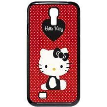 Red de Hello Kitty Ilike Com FE13OJ1 funda Samsung Galaxy S4 tel¨¦fono celular caso funda N9OL7J3GI