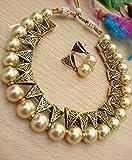 #10: Multi Non-Precious Metal Copper Crystal Fashion Necklace