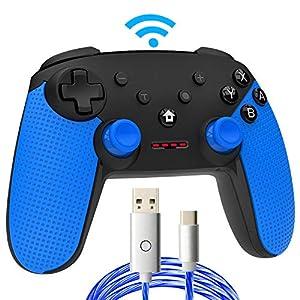 momen Wireless Pro Controller für Schalter, integrierter Gyro-Sensor und Turbo Funktionen für Nintendo Switch Controller…
