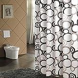 HJHY® Duschvorhang, Dicker wasserdichtes Mildew PEVA Material Duschvorhänge 80180cm, 300x200cm Wasserdicht, Anti-Schimmel ( größe : 240*200cm )