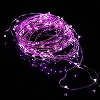 Ryham Fata LED luci della stringa flessibile filo di rame luci dell'albero 16.4ft / 5m 50 LED impermeabile Starry luci della stringa di Natale di cerimonia nuziale e del partito,