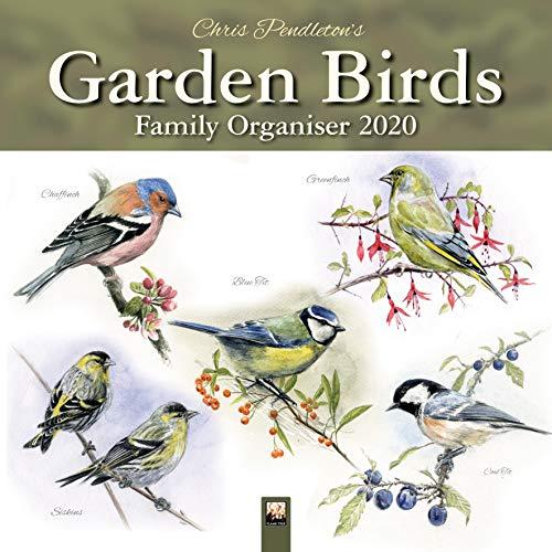 Chris Pendleton Garden Birds 2020 Family Organiser