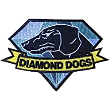 1 X Diamond Dogs Metal Gear Solid Big Boss Snake MGS Iron on Patch by Patch world 2014