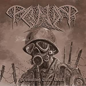 Promoting Total Death ( Limited Black Vinyl) [VINYL]