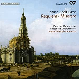 Hasse : Requiem - Miserere. Rademann.