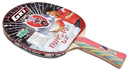 GKI Kung Fu DX Table Tennis Racket_Get (MRP 580) DMK Table Tennis Racket Cover Free  available at amazon for Rs.4579