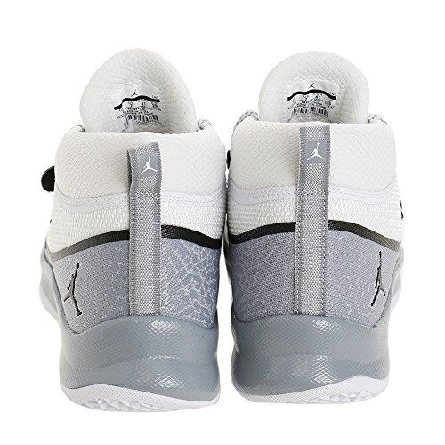 Nike Jordan Super.Fly 5 PO Basketballschuhe Herren White/Wolf Grey/Black