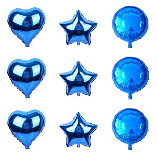 20 Foil Baby Blue Star Balloon Unique 53328